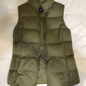 Small Gap Puffer Vest